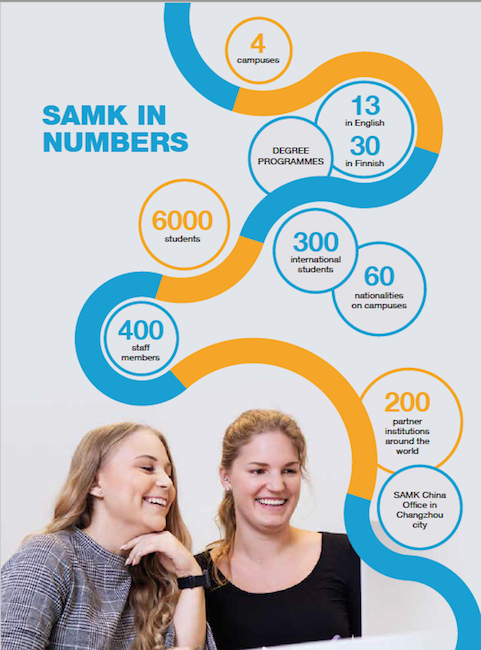 SAMK In Numbers