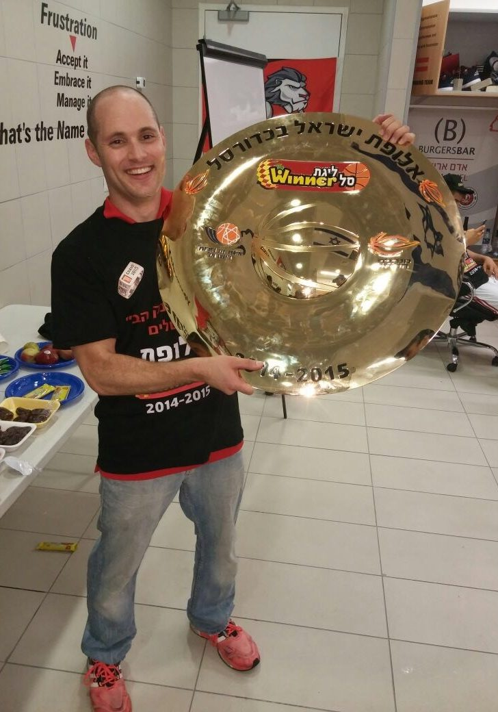 Yannai Barak has worked in Hapoel Jerusalem Basketball Club since 2010 as junior physiotherapist, and moved into senior position in 2014. The club was the 2014/15 Israeli Champions.